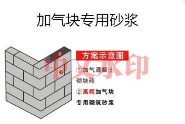 加气块专用砌筑砂浆厂家